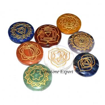 Thymus Chakra Symbol 2 Set
