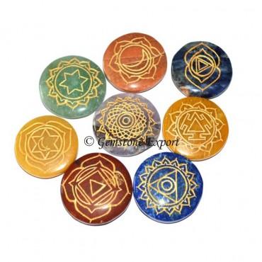 7 Chakra Thymus Symbol 5 Set