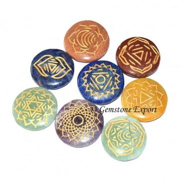 Chakra Thymus Symbol 6 Set