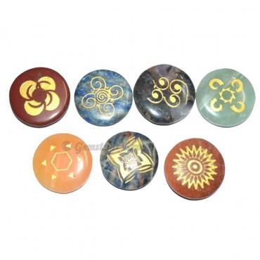 Engraved Chakra Energy Set