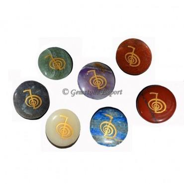 Engraved Choko-Reiki Disc Set