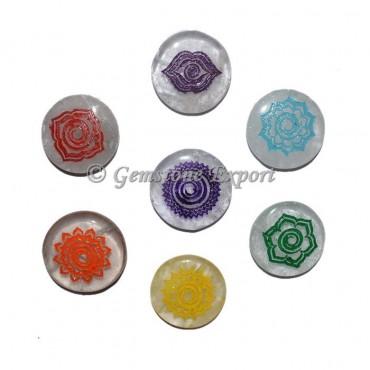 Color Chakra New Age Symbol Set