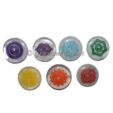 Color Chakra Healing Symbol Set