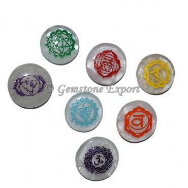 Color Chakra Sanskrit Healing Symbol Set