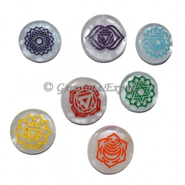 Chakra Color Healing Symbol Set