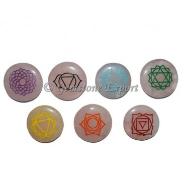 Rose Quartz Color Chakra Symbol Set