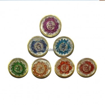Orgone Seven Chakra Printed Set