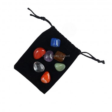 7 Chakra Set With Pouch