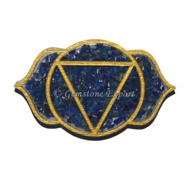 Third Eye Sodalite Seven Chakra Coaster