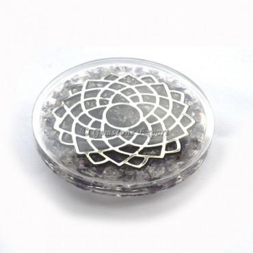 Crown Orgone Coaster