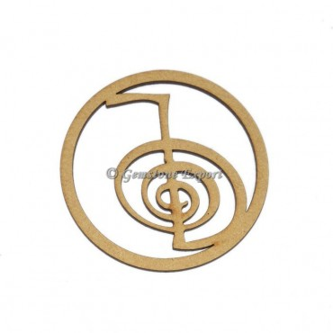 Choco Reiki Wooden Coaster