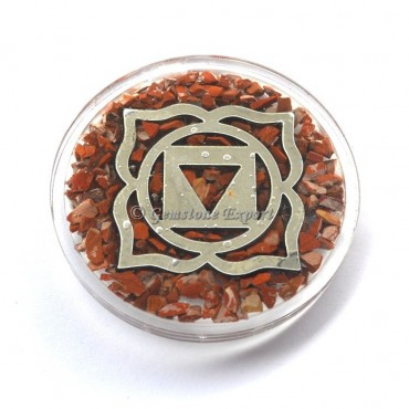 Root Chakra Orgone Coaster