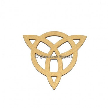 Celtic Design Wood Coaster