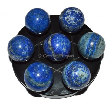 Black Agate Star Base with Chakra Lapiz Ball
