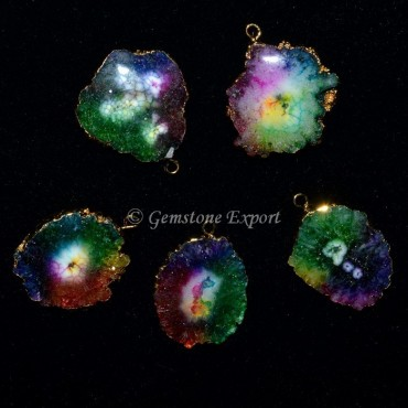 Solar Quartz Small Pendants