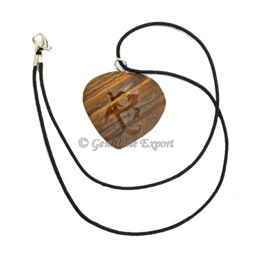 Tiger Eye Polished Pendants