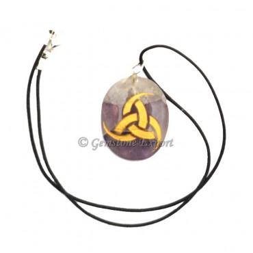Amethyst Energy Symbol Pendants
