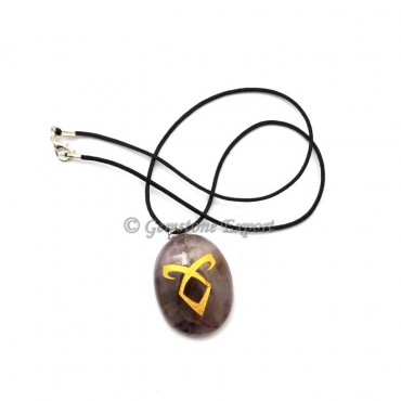 Energy Engraved Symbol Pendants