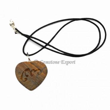 Tiger Heart Runic Symbol Pendants