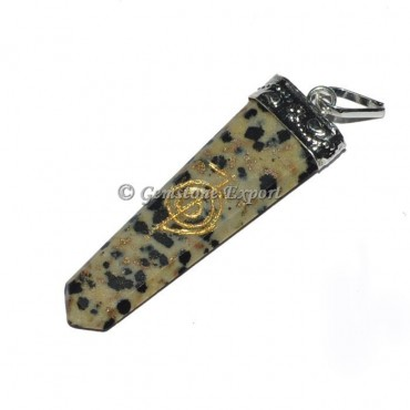 Dalmatian Choko Reiki Pendant