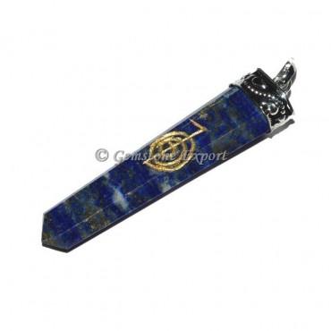 Lapis Lazuli Choko Reiki Pendant