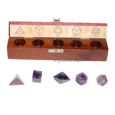 Amethyst Geometry Set