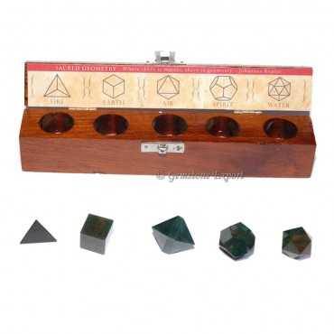 Blood Stone Geometry Set