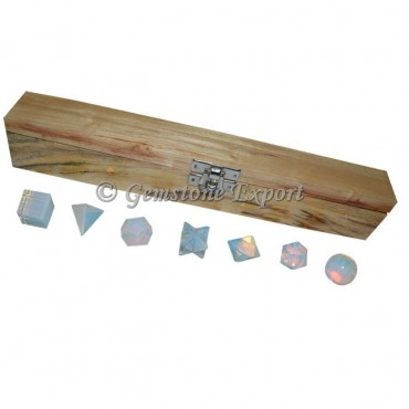 Opalite 7 Pcs Geometry Set