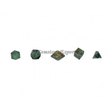 Green Budd Stone Sacred Geometry Set