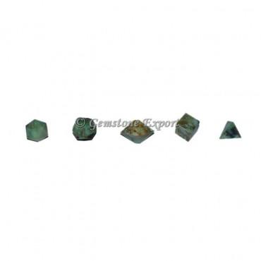 Green Budd Stone Sacred Geometry Set