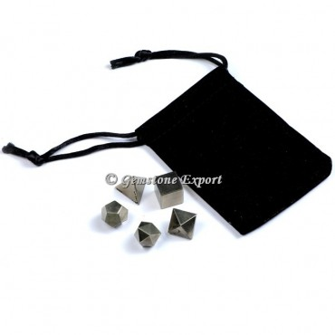 Hematite With Black Pouch