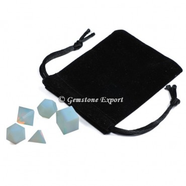 Opalite 4pcs With Black Pouch