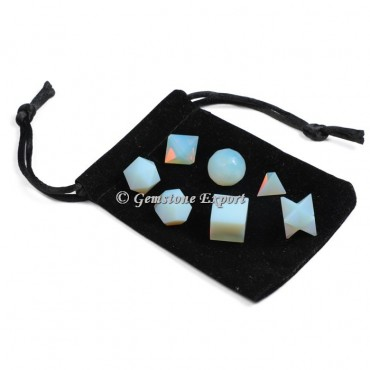 Opalite 7pcs With Black Pouch