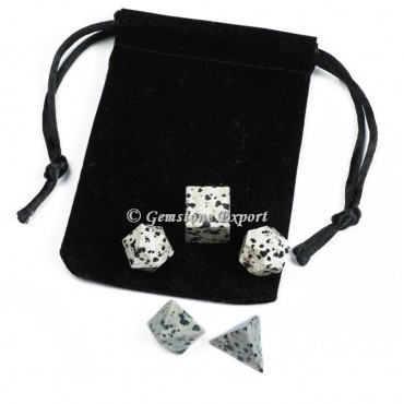 Dalmatian With Black Pouch