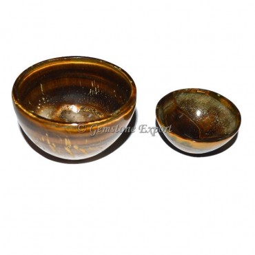 Tiger Eye Bowl