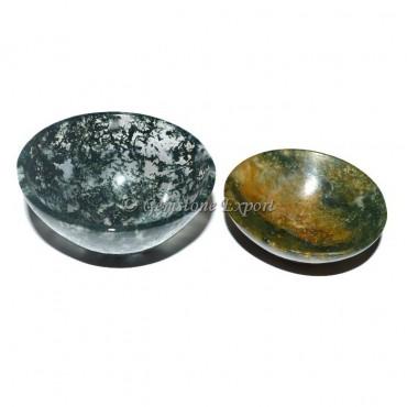 Moss Agate Bowl