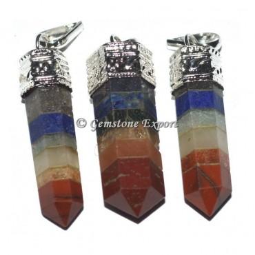 Chakra Cap Pencil Pendants