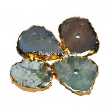 Mix Shape Agate Natural Knob