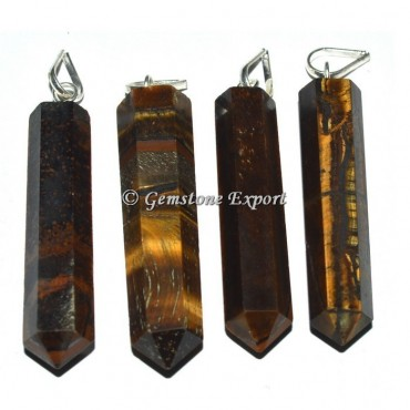 Tiger Eye Pencil Pendants