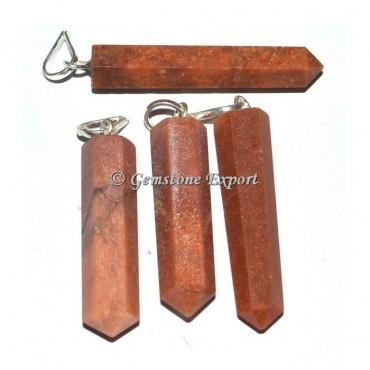 Supplier Peach Aventurine Pencil Pendants