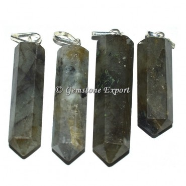 Labradorite Pencil Pendants
