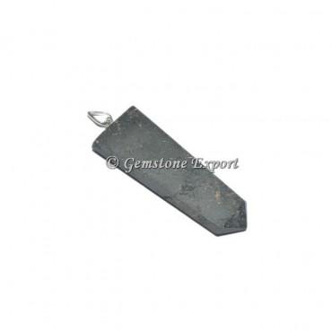 Hematite Flat Pencil Pendants