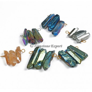 Mix Aura Pencil Brass Pendants