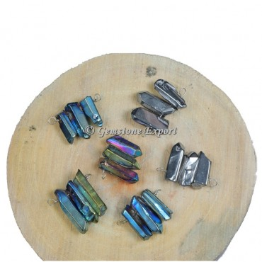 Mix Aura Pencil Silver Pendants