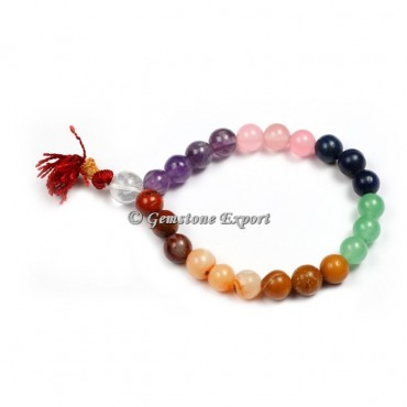 Seven Chakra Yoga Bracelets