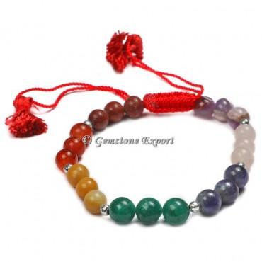 Fancy Seven Chakra Yoga Bracelets