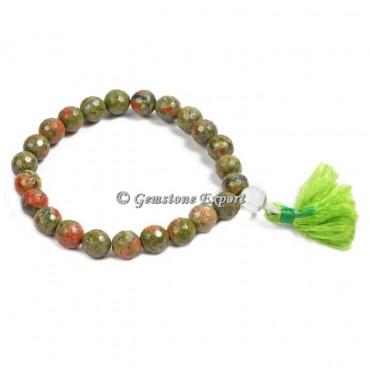 Unakite Yoga Bracelets