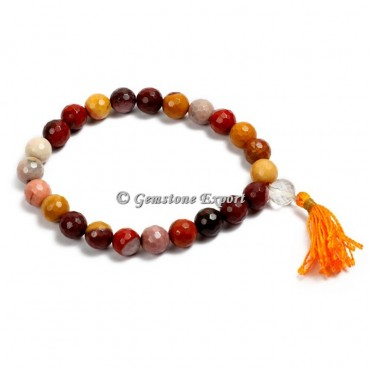 Faceted Jasper Yoga Bracelets