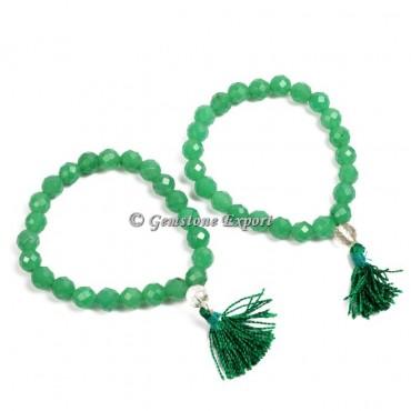 Green Aventurine Yoga Bracelets