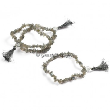 Labradorite Chips Yoga Bracelets